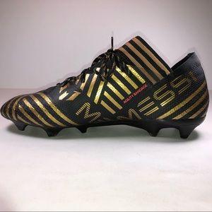 6de3cb4b205 adidas Shoes - Adidas Nemeziz Messi 17.1 FG Black Soccer Cleats